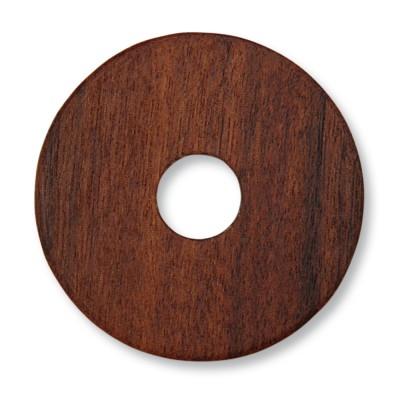 Holzscheibe 28mm WOOD Santos Palisander