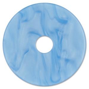 Scheibe Aquarell acryl 36mm hellblau
