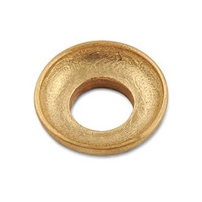 Scheibe Waves hoch mini 16mm goldplattiert