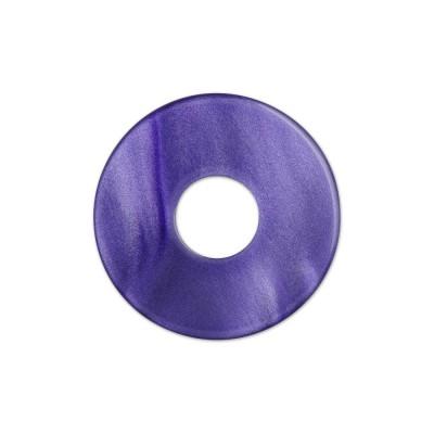 Scheibe Aquarell acryl 22mm lila