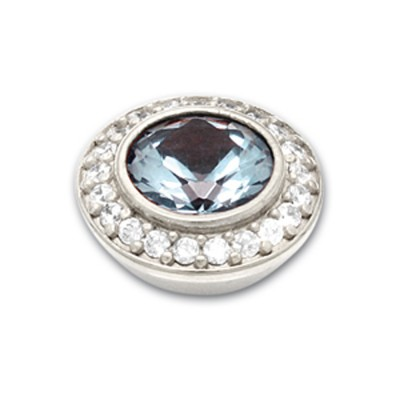 Top Jewels 14 mm, 8 mm Stein aqua