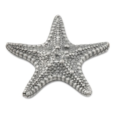Top Solo Starfish groß, Silber geschwärzt 32mm