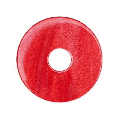 Scheibe Aquarell acryl 28mm rot