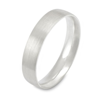 Silberring 4mm