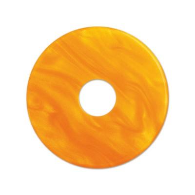 Scheibe Aquarell acryl 28mm orange