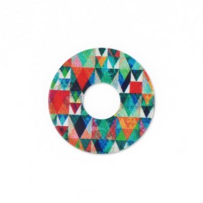 Acryl Scheibe 22mm Dreiecke
