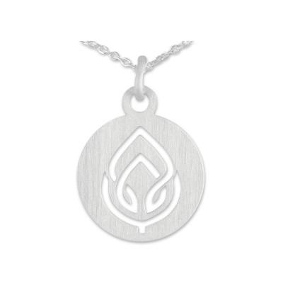 Anhänger Lotusblüte inkl. Silberkette