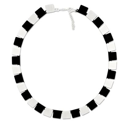 LEVEL4 Collier Quad schwarz X Elemente