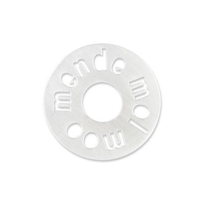 "Silber ""Momendemool"" 22mm ohne Acrylscheibe"