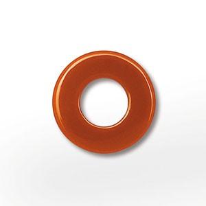Color Wendescheibe Acetat orange/dunkelblau 16mm