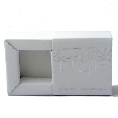 Ringschatulle Ring Ding Schutzengel 60x60 weiß