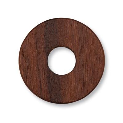 Holzscheibe 22mm WOOD Santos Palisander