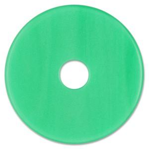Scheibe Aquarell acryl 36mm grasgrün