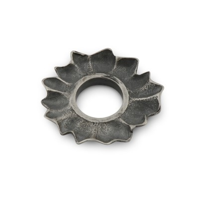 Scheibe Korall 17mm antik