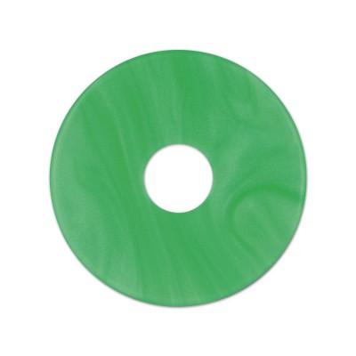 Scheibe Aquarell acryl 28mm grasgrün