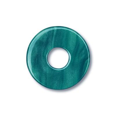 Scheibe Aquarell acryl 22mm petrol