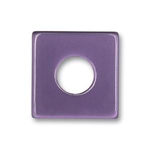 Color Wendescheibe Acetat Quadr. viol-eisbl. 18mm