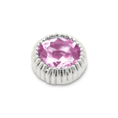 Top Andaluz 12mm Zirkonia rosa
