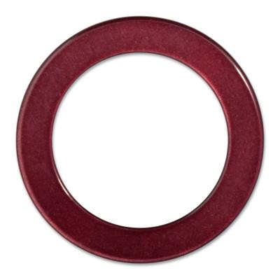 LOOP Ring innen 29mm, Aussen 40mm - bordeaux red