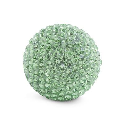 Kristall Klangkugel 20 mm, grün