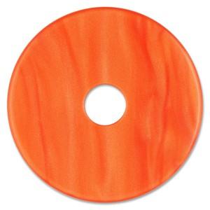 Scheibe Aquarell acryl 36mm rotorange
