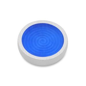 Top Palette blau matt 14mm