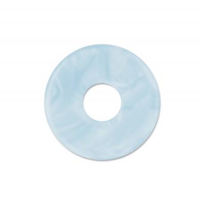 Scheibe Aquarell acryl 22mm eisblau