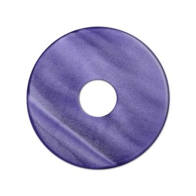 Scheibe Aquarell acryl 28mm lila