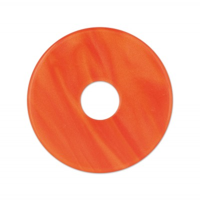 Scheibe Aquarell acryl 28mm rotorange