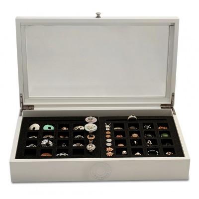 Geschenkebox Holz mit 2 Schaumstoffeinlagen
