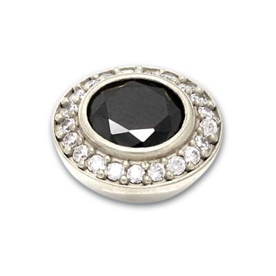 Top Jewels 14 mm, 8 mm Stein schwarz