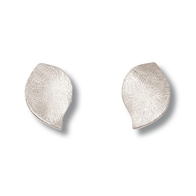 Basis-Ohrstecker Leaves, 15x10 mm