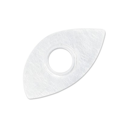 Scheibe BIG Blatt, 17x33 mm