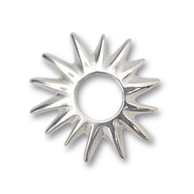 Scheibe Sonne 22mm