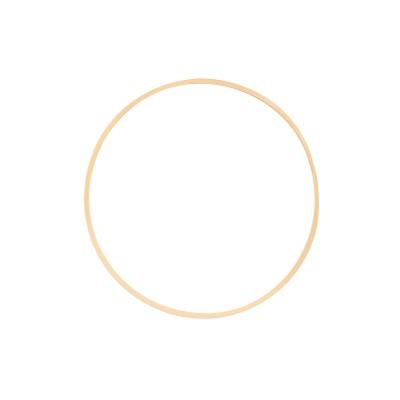 Anhänger Kreis groß, plattiert