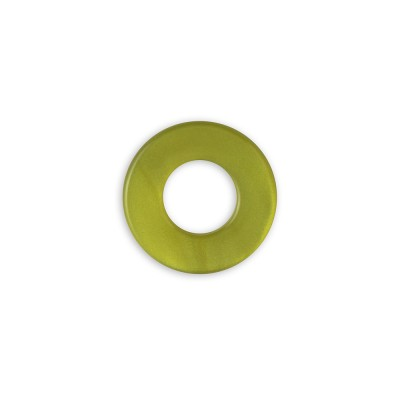 Scheibe Aquarell acryl 16mm olivgrün***
