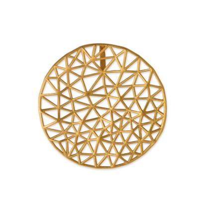Triangel Anhänger 35mm goldplattiert
