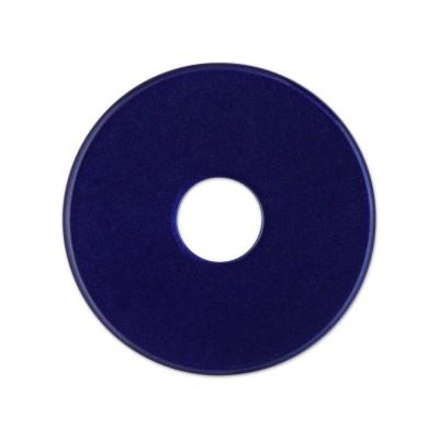 Scheibe Aquarell, 28 mm, marineblau***