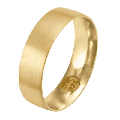 Ring 6mm GOLD 585