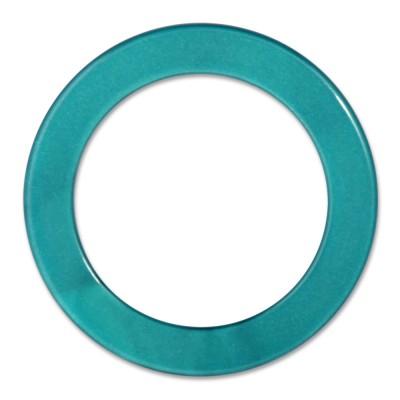 LOOP Ring innen 29mm, Aussen 40mm- turquoise