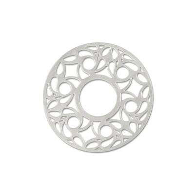 Scheibe Cut Motiv Filigran 22mm ohne Acrylscheibe