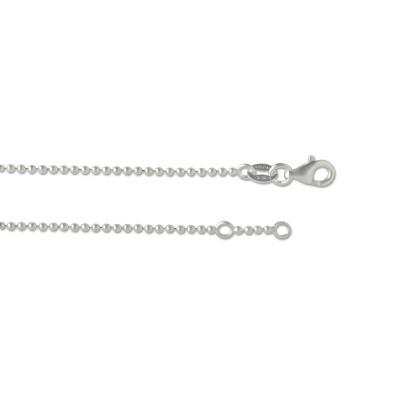 Silber Kugelkette ARM 1,5 mm 18,5cm
