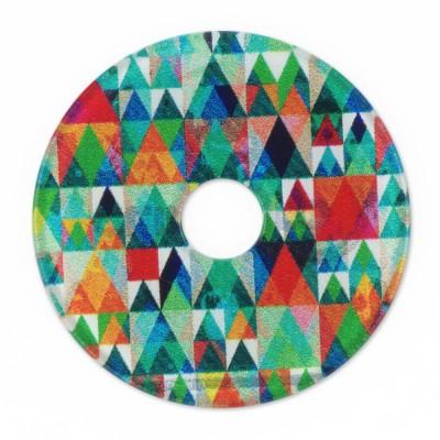 Acryl Scheibe 36mm Dreiecke