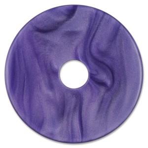 Scheibe Aquarell acryl 36mm lila
