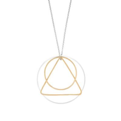 Kette Kreise mit Dreieck