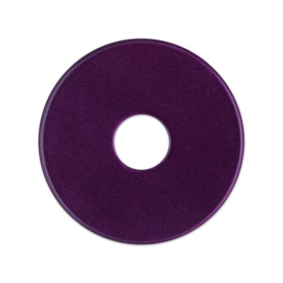 Scheibe Aquarell acryl 28mm pflaume***