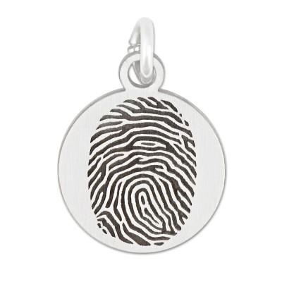Anhänger Fingerprint ohne Silberkette
