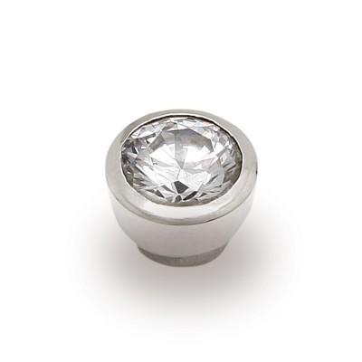 Top Sound 8mm Zirkonia weiß