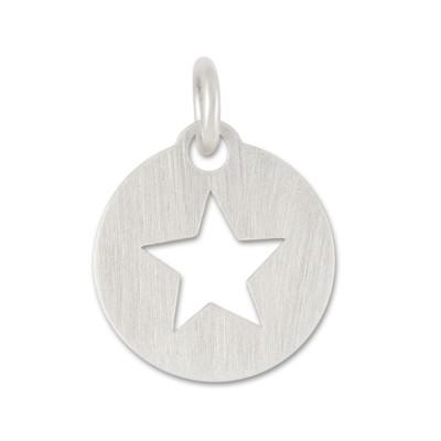 Anhänger Stern Cut 11mm ohne Silberkette