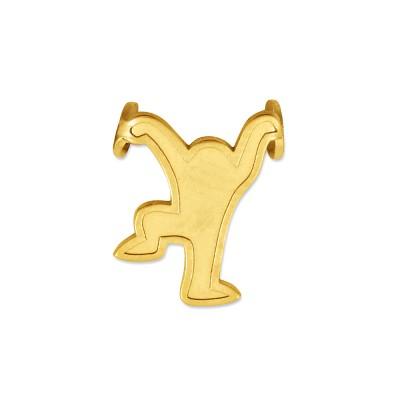 Anhänger Sali1 Silber goldplattiert